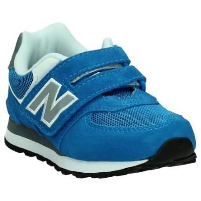blauwe new balance sneakers kv574