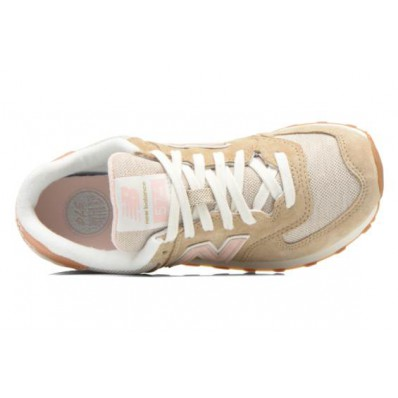 new balance 574 beige rose