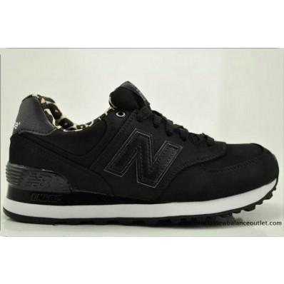 new balance 574 dames wl574spk zwarte sneakers