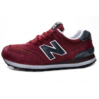 new balance 574 heren rood