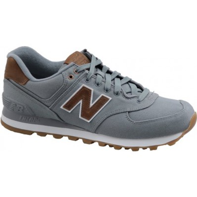 new balance 574 zwart bruin