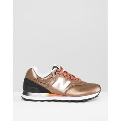 new balance beige bronze