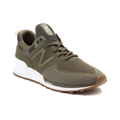 new balance beige green
