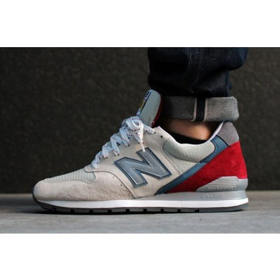 new balance beige red