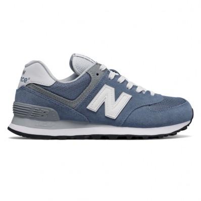 new balance dames 574 blauw