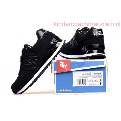 new balance dames 574 wl574spk zwarte sneakers