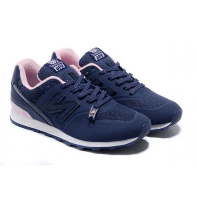 new balance dames blauw roze