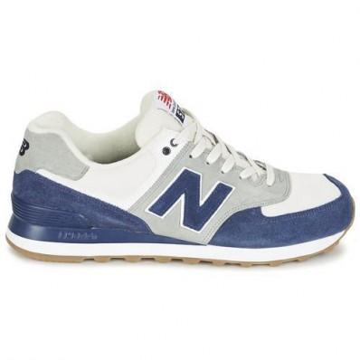 new balance dames blauw wit