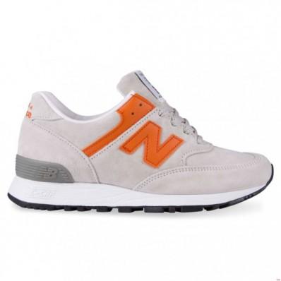 new balance dames grijs oranje