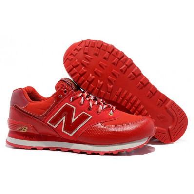 new balance dames rood