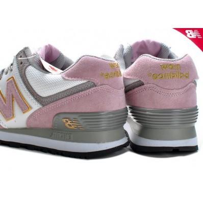 new balance dames roze grijs