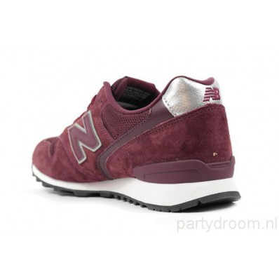 new balance dames sneakers bordeaux rood