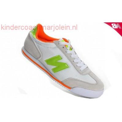 new balance dames wit oranje
