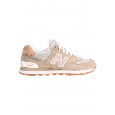 new balance femme beige et rose