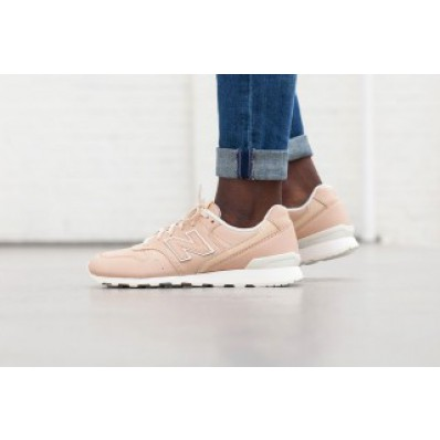 "new balance – leder sneaker ""996 in beige"