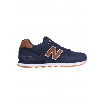 new balance ml574 blauw