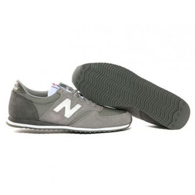 new balance sneakers dame grå