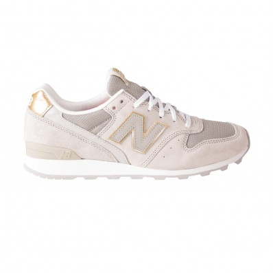 new balance wit goud