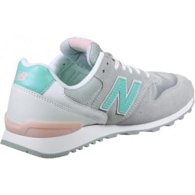new balance wr996 w schoenen blauw