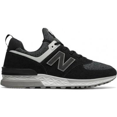 new balance zwart grijs