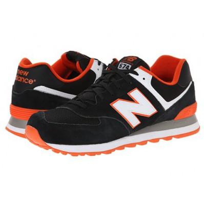 new balance zwart oranje