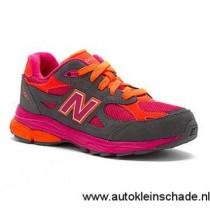 new balance grijs roze oranje