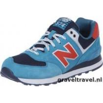 new balance kl574 blauw