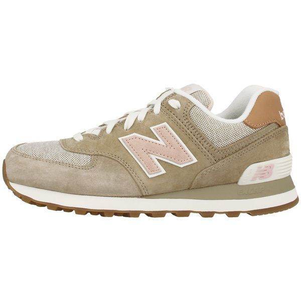 new balance beige et rose 574
