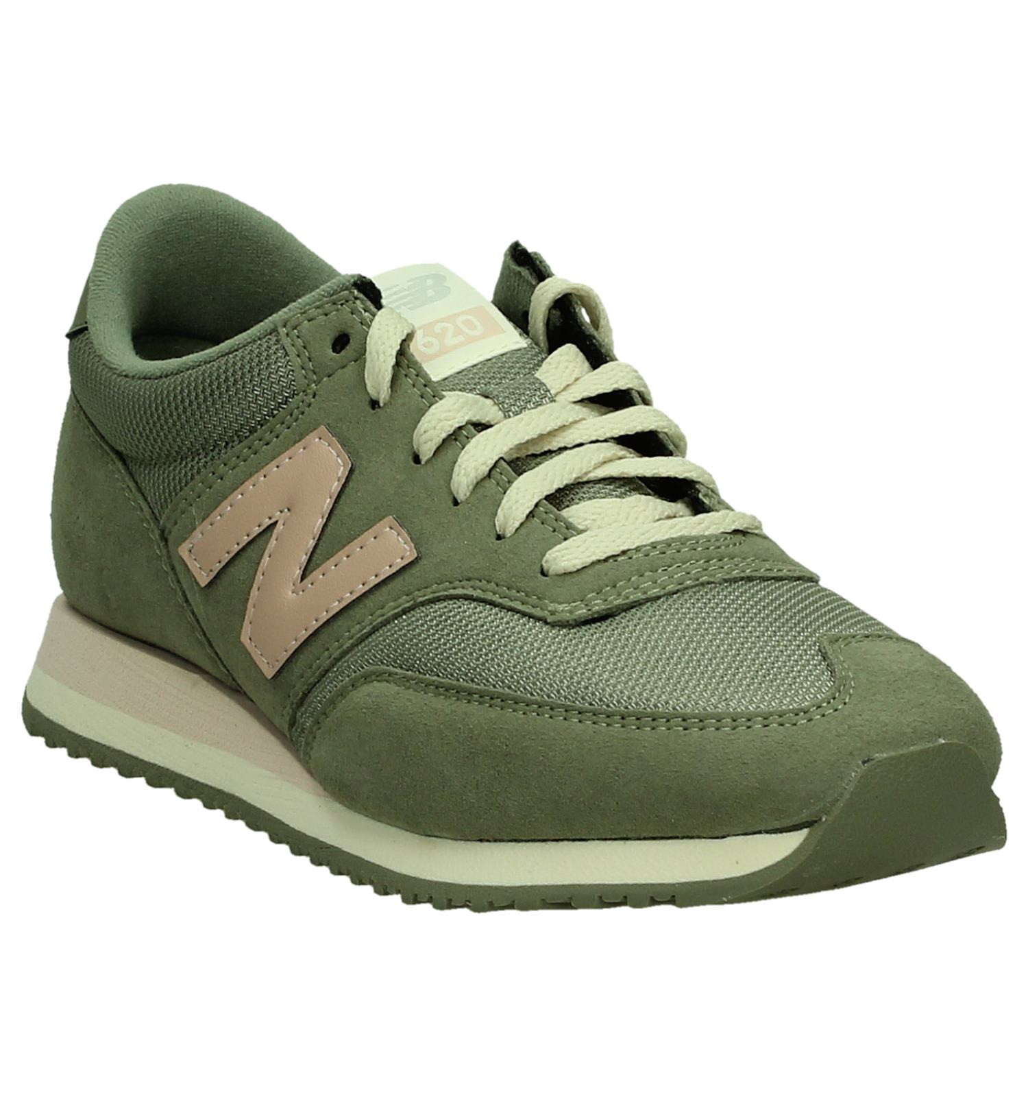 new balance legergroen dames